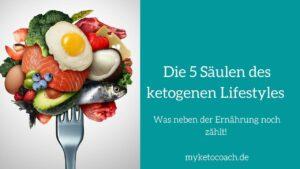 Ketogener Lifestyle - was neben der ketogenen Ernährung noch für die Ketose wichtig ist.