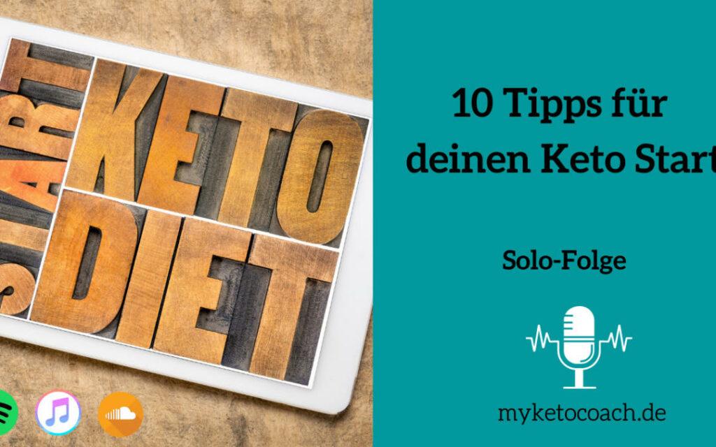 Keto Anfänger Tipps für den Keto Start in die Ketose mit ketogenen Ernährung